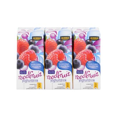 Huismerk Drinkyoghurt Rode Vruchten