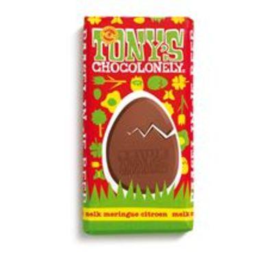 Tony's Chocolonely Paasei in je Reep 180 g