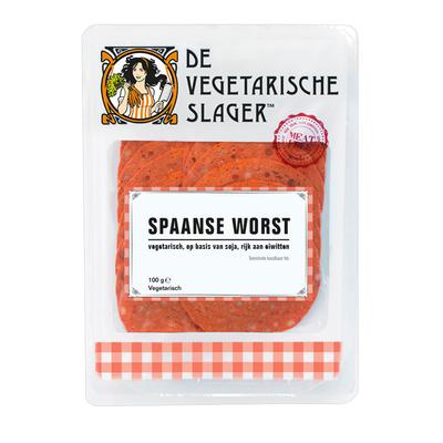 Vegetarische Slager Spaanse worst