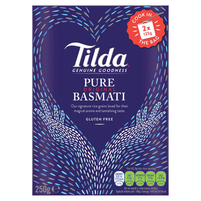 Tilda Wholegrain steamed basmati&quinoa