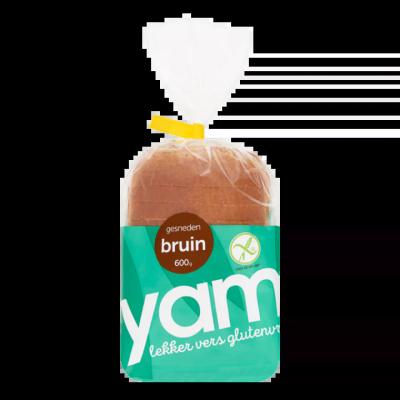 Yam Gesneden Bruin