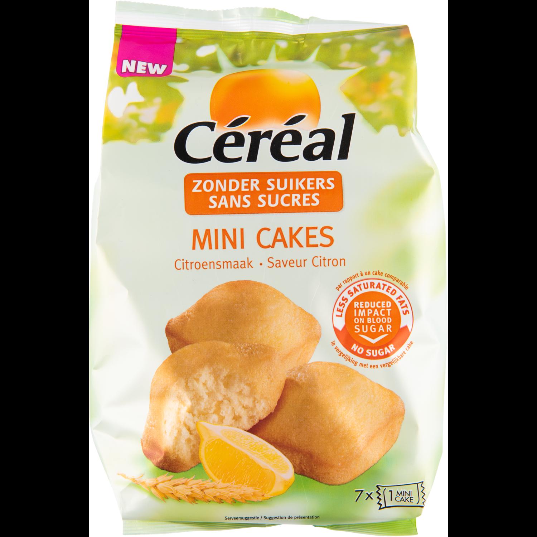 Céréal Mini cake citroen