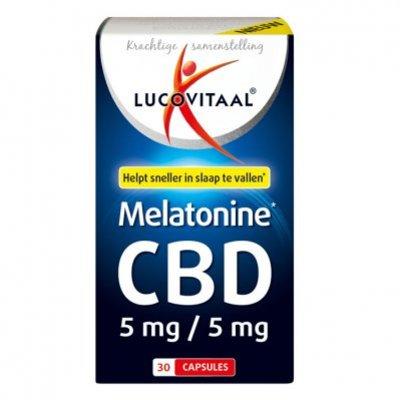 Lucovitaal Melatonine CBD 5mg