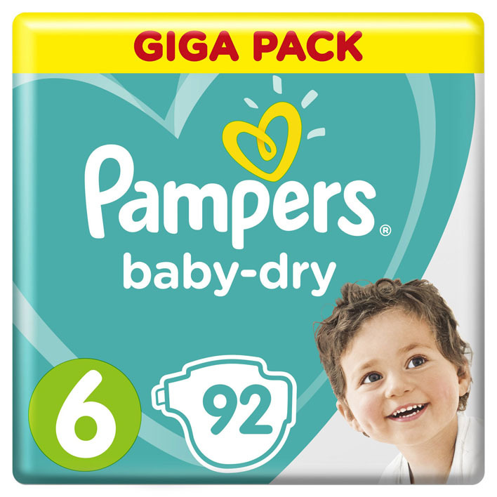 Pampers Baby-dry maat 6