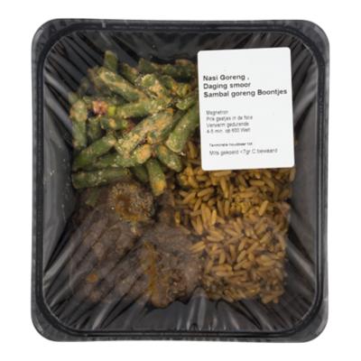 Warung Nasi goreng daging smoor