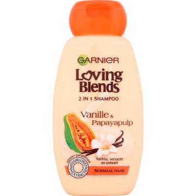 Loving Blends Shampoo vanille & papayapulp