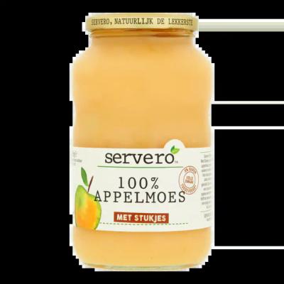 Servero 100% Appelmoes Met Stukjes