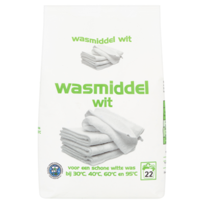 Wasmiddel poeder wit