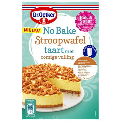 Dr. Oetker No bake stroopwafeltaart