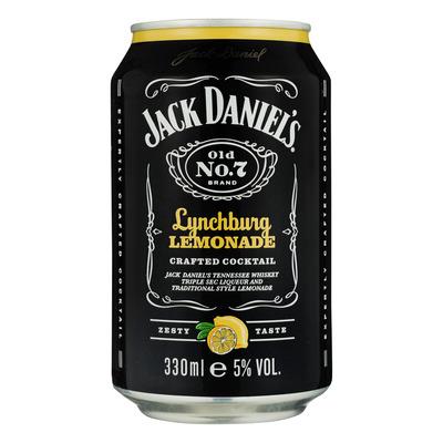 Jack Daniels & Lynchburg lemon