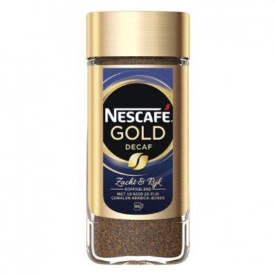 Nescafé Gold decafé oploskoffie pot