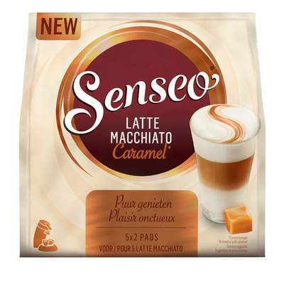 Senseo Latte macchiato caramel koffiepads