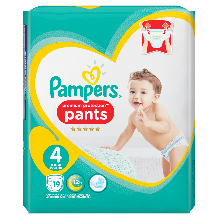 Pampers Permium protection pants maat 4