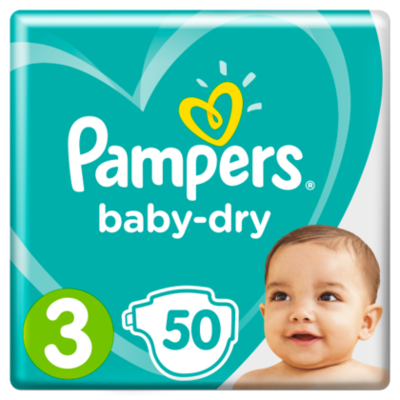 Pampers Luiers GVP Baby Dry maat 3