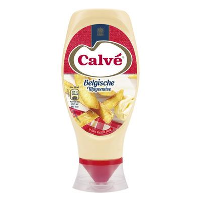 Calvé Belgische mayo in knijpfles