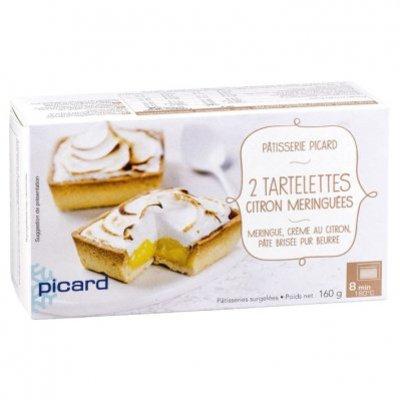 Picard Citroen meringue taartjes