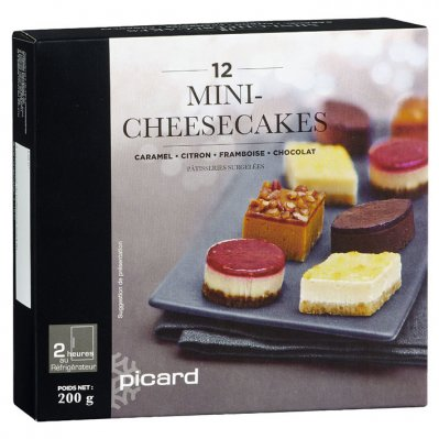 Picard Mini-cheesecakes