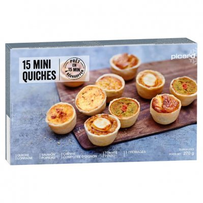 Picard Mini quiches