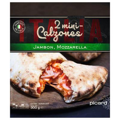 Picard Mini-calzones met ham en mozzarella