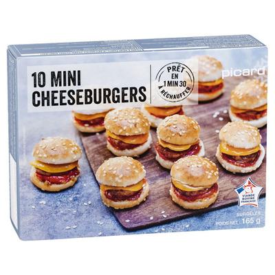 Picard Mini cheeseburgers