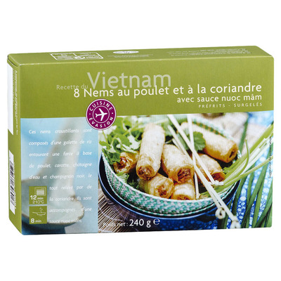 Picard Vietnamese loempia's met kip