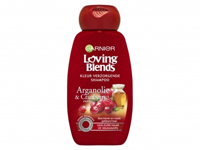 Garnier Loving Blends Shampoo cranberry en arganolie