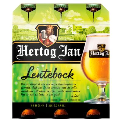 Hertog Jan Lentebock Bier Flessen 6 x 30 cl