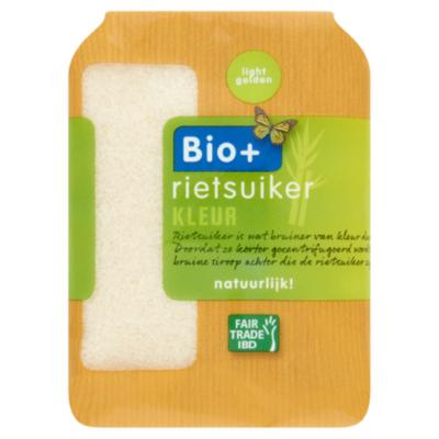Bio+ Rietsuiker light golden