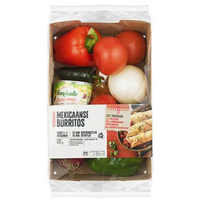 Huismerk Mexicaanse burritos verspakket