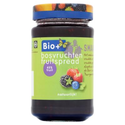 Bio+ Fruitspread bosvruchten biologisch