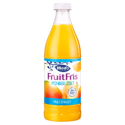 Hero Fruitfris minder zoet multifruit