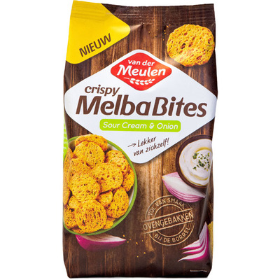 Van der Meulen Melbabites sour cream & onion
