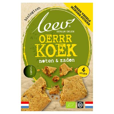 Leev Bio oerrr koek noten & zaden
