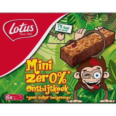 Lotus Mini zero koekjes aap