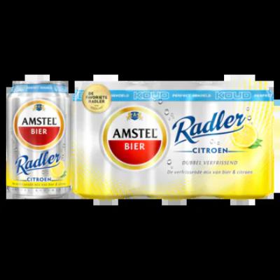 Amstel Radler Bier Citroen Koud Blik