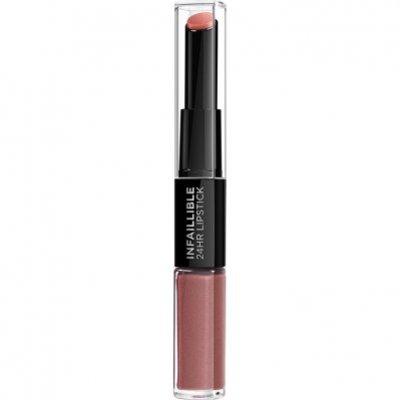 L'Oréal Infallible lipstick 312 incessant russet
