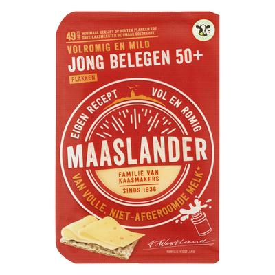 Maaslander Jong belegen 50+ plak