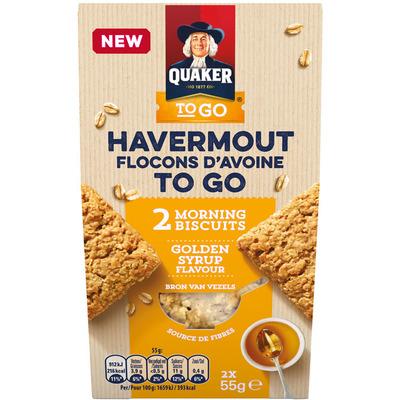 Quaker Havermout koek honing