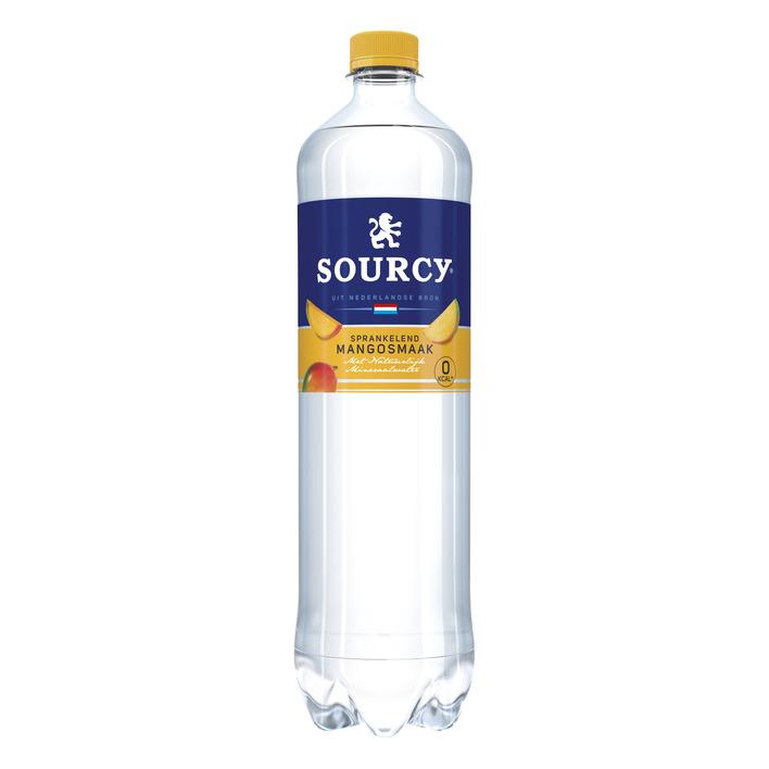 Sourcy Mango koolzuurhoudend mineraal water