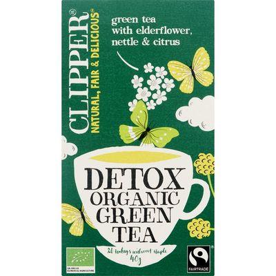 Clipper Groene detox bio