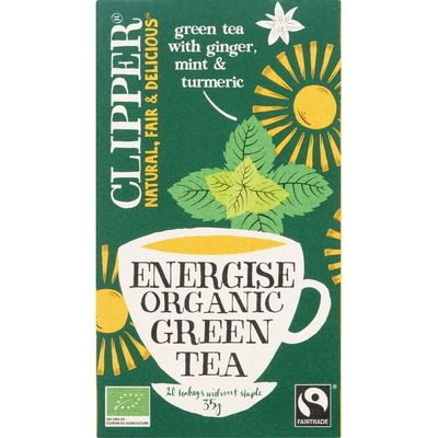 Clipper Groene energise thee bio