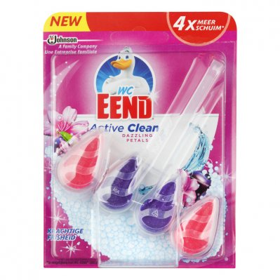 WC Eend Active clean toiletblok dazzling