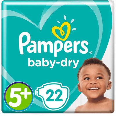Pampers Baby Dry Carrypack Maat 5+