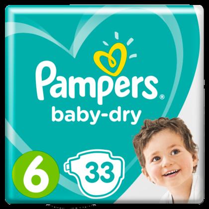 Pampers Luiers GVP Baby Dry maat 6