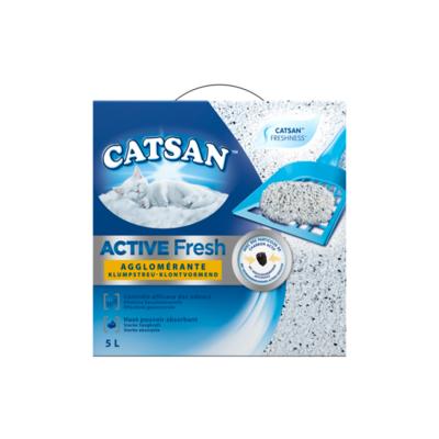 Catsan Kattenbakvulling Active Fresh Klontvormend