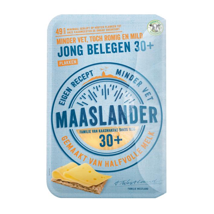 Maaslander Jong belegen 30+ plak