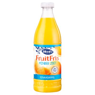 Hero Fruitfris minder zoet sinaasappel