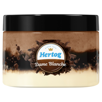 Hertog IJs Single dame blanche