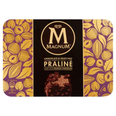 Magnum Chocolade hazelnoot praliné