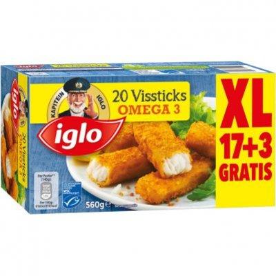 Iglo Vissticks omega 3